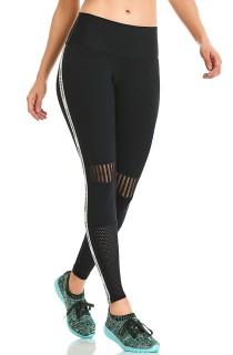 Legging Emana Run Preta CAJUBRASIL Activewear
