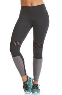 Legging Emana Run Cinza CAJUBRASIL Activewear