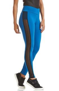 Legging Emana Elastic Azul CAJUBRASIL Activewear