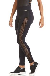 Legging Emana Elastic Preta CAJUBRASIL Activewear