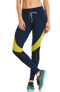 Legging Rock Sportwear Azul CAJUBRASIL Activewear