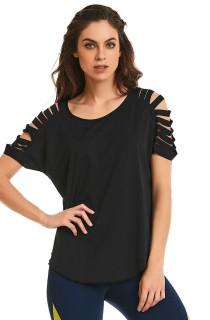 T-shirt Sand Preta CAJUBRASIL Activewear