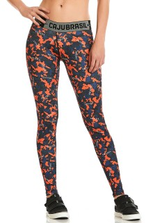 Legging FTCross Laranja CAJUBRASIL Activewear