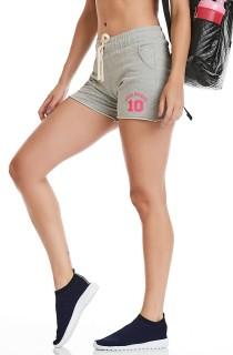 Short Sport Cinza CAJUBRASIL Activewear