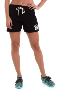 Short Sport Preto CAJUBRASIL Activewear