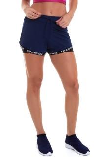 Short Fitness Azul CAJUBRASIL Activewear