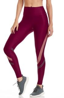 Legging Gym Bordô CAJUBRASIL Activewear