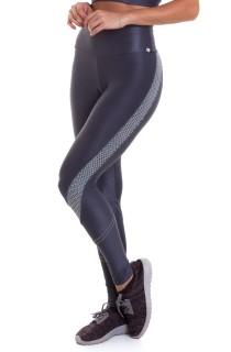 Legging Gym Cinza CAJUBRASIL Activewear