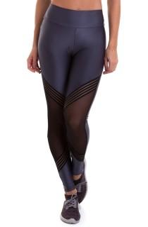 Legging Elastic Cinza CAJUBRASIL Activewear