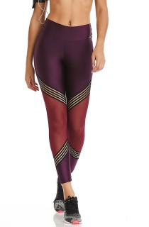Legging Elastic Roxa CAJUBRASIL Activewear