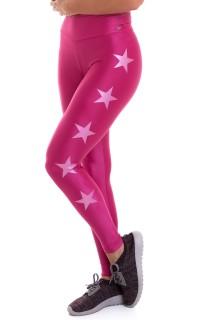 Legging Stars Rosa CAJUBRASIL Activewear