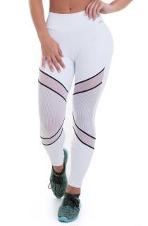 Legging NZ Magic Branca CAJUBRASIL Activewear