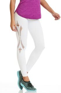 Legging Emana Laser Branca CAJUBRASIL Activewear
