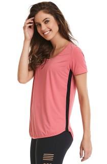 T-Shirt Premium Rosa CAJUBRASIL Activewear