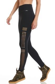 Legging NZ Energize Preta CAJUBRASIL Activewear