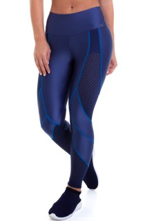 Legging Action Azul CAJUBRASIL Activewear