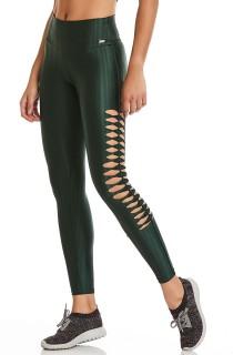 Legging Lifestyle Verde CAJUBRASIL Activewear