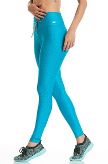 Legging Night Azul CAJUBRASIL Activewear