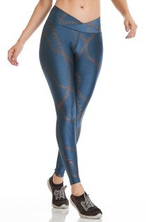 Legging Exclusive Azul CAJUBRASIL Activewear