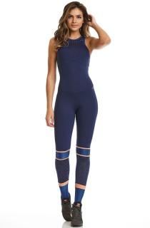 Macacão NZ Laser Azul CAJUBRASIL Activewear