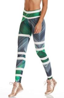 Legging Print Flawless Preta CAJUBRASIL Activewear