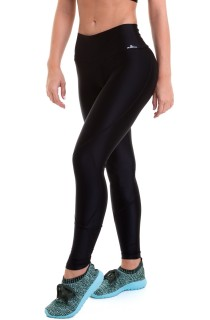Legging Glow New In Basic Preta CAJUBRASIL Activewear