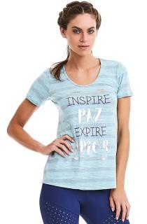 T-shirt Inspire Verde CAJUBRASIL Activewear