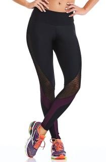 Legging Texture Preto CAJUBRASIL Activewear