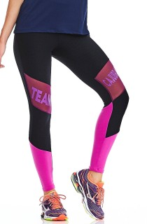 Legging Team Preto CAJUBRASIL Activewear