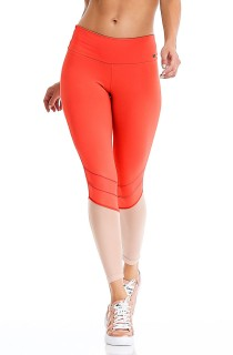 Legging Water Proof Laranja CAJUBRASIL Activewear