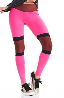 Legging Rock Surf Rosa CAJUBRASIL Activewear