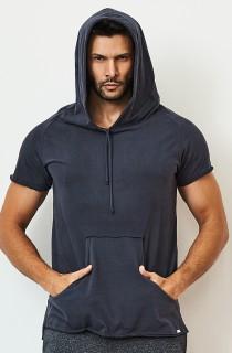 Camiseta Masculina Hood Cinza CAJUBRASIL Activewear