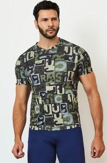 Camiseta Masculina Print CAJU Camouf CAJUBRASIL Activewear