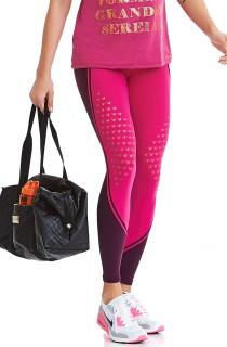 Legging Emana Laser Rosa CAJUBRASIL Activewear