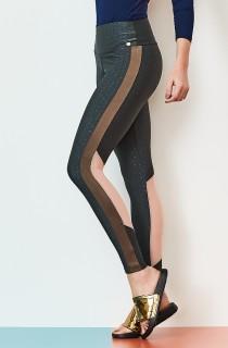 Legging Glamour Cinza CAJUBRASIL Activewear