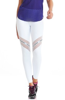 Legging NZ Adventure Branco CAJUBRASIL Activewear