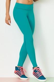 Legging NZ Cós Alto Basic Verde CAJUBRASIL Activewear