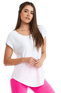 T-shirt Premium Basic Branco CAJUBRASIL Activewear