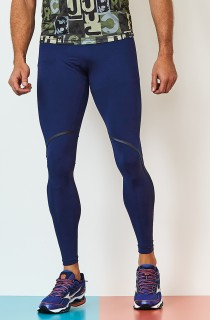 Legging Masculina Rock Run Azul CAJUBRASIL Activewear