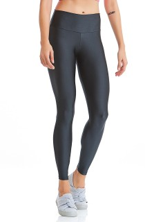 Legging Shine Basic Cinza CAJUBRASIL Activewear