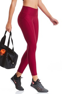 Legging UP Bordô CAJUBRASIL Activewear