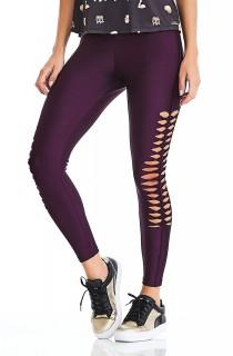Legging Effect Roxo CAJUBRASIL Activewear