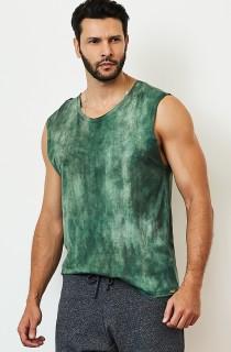 Regata Masculina Camouflage Verde CAJUBRASIL Activewear