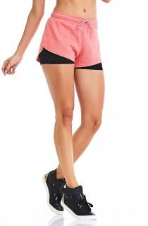 Short Fast Laranja CAJUBRASIL Activewear