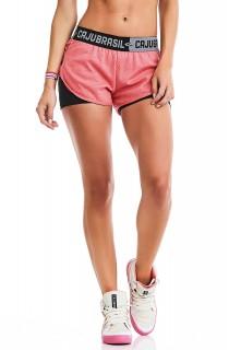 Short Sport Laranja CAJUBRASIL Activewear