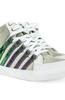 Sneaker Glitter Branco CAJUBRASIL Activewear