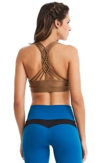 Top Macramê Dourado CAJUBRASIL Activewear