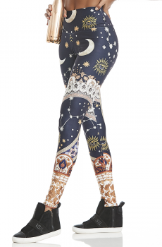Legging Print Wonderful Mystical