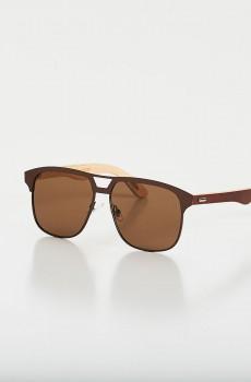 Óculos de Sol Timber Marrom CAJUBRASIL Activewear