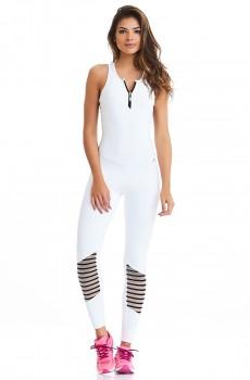 Macacão NZ Sky Branco CAJUBRASIL Activewear